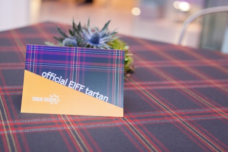 The Film Festival's official tartan